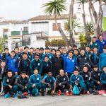 La pretemporada del Shanghai Greenland Shenhua en Marbella