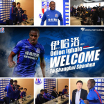 ODHON IGHALO; THE LAST INCORPORATION TO SHANGHAI SHENHUA