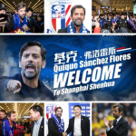 Quique Sánchez Flores, the new head coach of Shanghai Greenland Shenhua