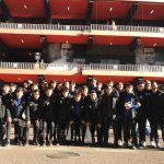 The Shanghai Greenland Shenhua U19 enjoys the city of Valencia