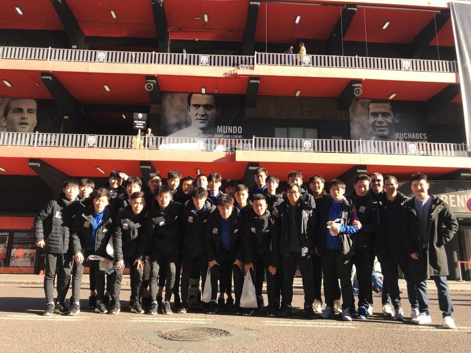 Shanghai Shenhua U19 preseason by Toldrá Asia Consulting